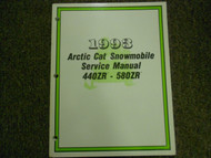 1993 Arctic Cat 440ZR 580ZR Service Repair Shop Workshop Manual FACTORY OEM