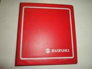 1994 Suzuki RF600R Service Repair Manual BINDER STAINED WATER DAMAGED FACTORY