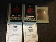 1995 Ford RANGER TRUCK Service Shop Repair Manual Set OEM W Wiring Diagram