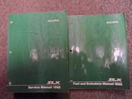 1996 Acura SLX Service Repair Shop Manual SET FACTORY W Wiring Diagram