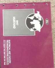 1997 FORD MUSTANG Electrical Wiring Diagrams EWD Service Shop Repair Manual 97