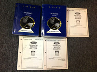 1999 FORD MUSTANG Service Shop Repair Workshop Manual Set W Technical Bulletins