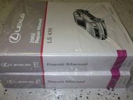 2002 Lexus LS430 LS 430 Service Shop Repair Manual SET NEW W WIRING DIAGRAM X