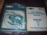 1977 77 PONTIAC Grand Prix Lemans Firebird Bonneville Service Repair Manual Set