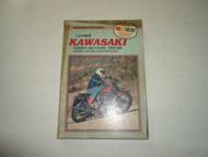 1979-1981 Clymer Kawasaki KZ500 550 FOURS Service Repair Maintenance Manual WORN