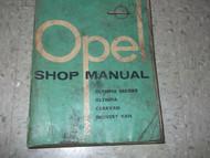 1957 1958 OPEL OLYMPIA & REKORD CARAVAN CARAVAN Service Shop Repair Manual OEM