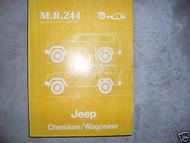 1983 1984 1985 JEEP Cherokee Wagoneer Service Shop Repair Manual OEM FACTORY