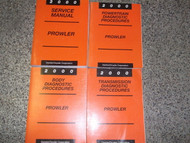2000 Plymouth Mopar Prowler Workshop Service Repair Shop Manual Set W Diagnostic