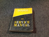 1960 Dodge Passenger Car Service Shop Repair Workshop Manual OEM Factory