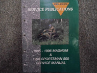 1995 1996 Polaris Magnum Sportsman Service Repair Shop Manual FACTORY OEM BOOK