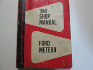 1960 Ford & Meteor Service Shop Repair Workshop Manual CDN Factory OEM Book Used