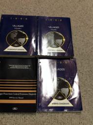 1999 FORD MERCURY VILLAGER Service Shop Repair Workshop Manual Set W EWD & PCED