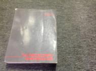 1992 ACURA VIGOR Service Repair Shop Workshop Manual OEM Book 1992