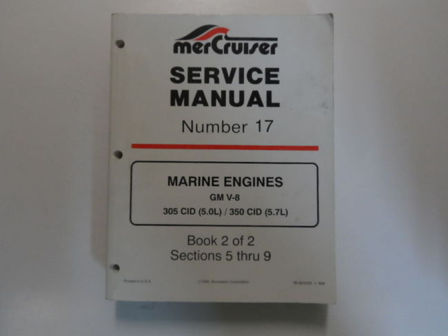 mercruiser 17 marine engines gm v8 305 350 cid 5 0l 5 7l service rh carboagez com Mercruiser Cooling System Mercruiser Fuel Pump