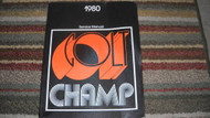 1980 Plymouth Champ Dodge Colt Service Repair Shop Workshop Manual OEM Mopar