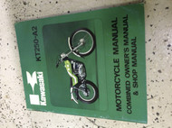 1976 1977 Kawasaki KT 250 A2 KT250 Owner's Service Repair Shop Manual OEM BOOK x