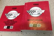 1990 Chevrolet Chevy CORVETTE Service Repair Shop Workshop Manual Set W EWD OEM