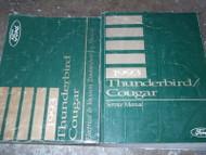 1993 Ford Thunderbird & Mercury Cougar Repair Shop Service Manual Set W EVTM OEM