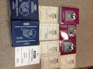 1997 Ford Mustang Gt Cobra Service Shop Manual Set W EVTM Transmission Binders +