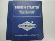 Briggs & Stratton Service Engine Sales Manual Catalog Factory OEM Book USED Rare