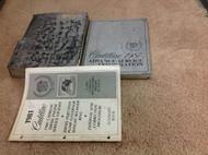1981 Cadillac ALL MODELS Service Shop Repair Manual Set W Advance Information +