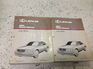 1992 LEXUS LS400 LS 400 Service Repair Shop Workshop Manual Set OEM Book 1992
