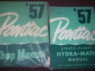 1957 Pontiac All Models Repair Service Shop Manual Set W Supplement NEW