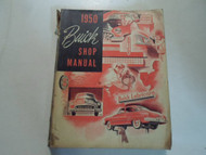 1950 Buick ALL SERIES LINES Service Shop Repair Manual DAMAGED STAINED FACTORY
