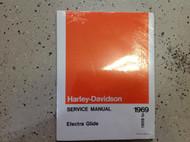 1959 1960 1961 1962 Harley Davidson Electra Glide Service Repair Shop Manual NEW