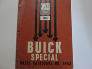 1964 BUICK SPECIAL Parts Catalog Catalogue Manual Factory OEM Book CDN RARE