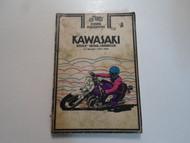 1973 1974 Clymer Kawasaki Z-1 Models Service Repair Handbook Manual x