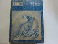 1975 PONTIAC ASTRE Service Repair Shop Manual Factory OEM Book Used