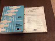 1985 GM Chevrolet Chevy Camaro Service Shop Repair Workshop Manual Set W Revised
