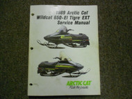1989 ARCTIC CAT WILDCAT 650 EL TIGRE EXT Service Repair Shop Manual FACTORY x