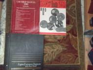 1989 Ford Mustang Gt Cobra Service Shop Manual Set OEM W EWD & POWERTRAIN PCED B