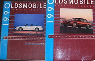 1990 90 OLDSMOBILE CUTLASS SUPREME Service Shop Repair Manual Set W CONV SUPP