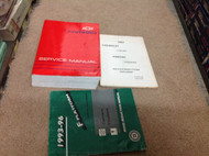 1993 GM Chevrolet Chevy Camaro Service Shop Repair Manual Set W Supplements OEM