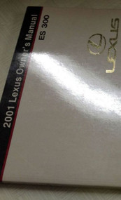 2001 LEXUS ES300 ES 300 Owners Manual FACTORY DEALERSHIP GLOVE BOX GUIDE NEW