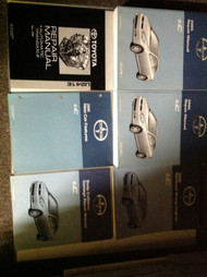 2005 TOYOTA SCION tC TC T C Service Shop Repair Manual Set W EWD + TRANS BK +