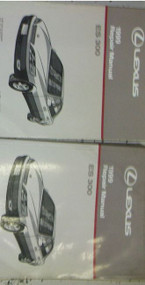 1999 LEXUS ES300 ES 300 Service Repair Shop Manual Set DEALERSHIP 99 BOOK NEW