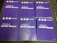 2004 CHEVY CHEVROLET TAHOE SUV TRUCK Service Shop Repair Manual Set NEW OEM 04