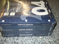 2004 Chevy Colorado GMC Canyon Service Shop Repair Manual SET BRAND NEW