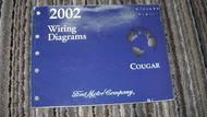 2002 Mercury Cougar Electrical Wiring Diagrams EVTM EWD Shop Service Manual OEM