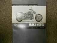 2002 Harley Davidson VRSCA Electrical Diagnostic Manual Factory OEM BOOK USED 02