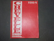 1964 GM Chevrolet Chevelle Shop Service Repair Workshop Manual OEM Factory x