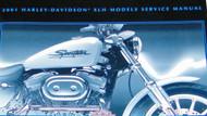 2001 Harley Davidson XLH SPORTSTER Models Factory Service Shop Repair Manual