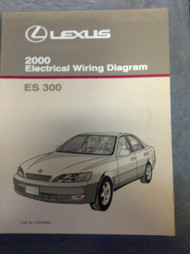 2000 LEXUS ES300 Electrical Wiring Diagram Service Shop Manual OEM EWD LEXUS EWD