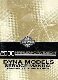 2000 Harley Davidson DYNA MODELS Service Repair Shop Manual Factory x NEW