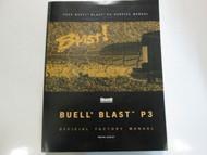 2000 Buell Blast P3 Service Repair Shop Manual FACTORY OEM BOOK BRAND NEW 2000