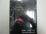 2000 01 02 03 04 05 06 07 2008 Polaris 120 Service Shop Repair Manual OEM NEW